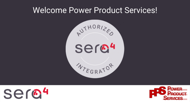 Sera4 Authorized Integrator access control logo, with PPS logo
